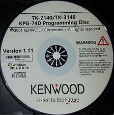 Kenwood KPG-74D Software Version 1.11 for TK-2140 and TK-3140