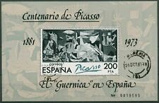 Spanien 1981 100.Geburtstag v. Pablo Picasso Block 23 I. gestempelt (C91702)