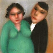 Portrait Of A Couple.....Original......Pastel On Board