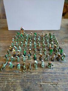 Lot 96 Soldats Armée Américaine A Peindre Starlux