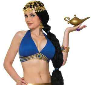 Belly Dancer Top Arabian Harem Halloween Sexy Adult Costume Accessory 3 COLORS