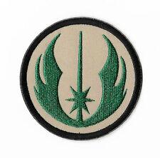 """Jedi Order Emblem Patch 3"""" Embroidered Iron on Badge Star Wars Costume Skywalker"""