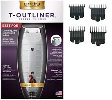 Andis Combo: T-Outliner Trimmer #04710 + Attachment Combs #23575