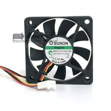 Sunon MagLev MB60101V2-000U-G99 60mm x 10mm 12v Vapo Bearing Cooling Fan 3 pin