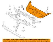 PORSCHE OEM Radiator Core Support-Sight Shield Splash Cover Panel 958556806209B9