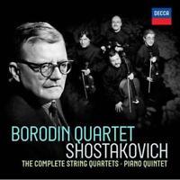 Borodin Quartet - Shostakovich: Complete String Quartets (CD 6 TO 8 DISC SET)