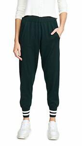 LNDR Arctic track pants merino wool dark green medium joggers sweatpants $318