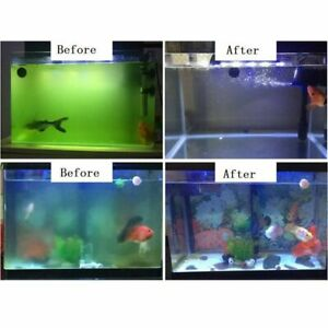 Aquarium UV Sterilizer Light 5/7/9/11/13W Submersible Waterproof Disinfection