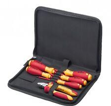 Wiha VDE Werkzeug Set Elektriker Schraubendreher Seitenschneider Tasche 33969