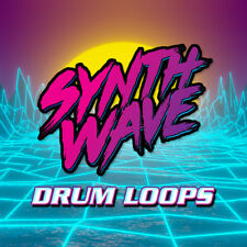 Synthwave Drum Loops & Samples - Retro Synth Pop Beats - Ableton Live FL Studio
