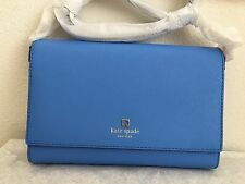 NWT!! Kate Spade Charlotte Street Alek Crossbody Bag Purse Alice Blue $258