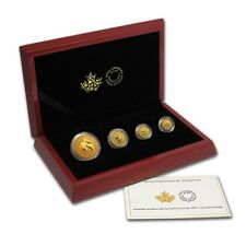 2015 Canada 4-Coin Gold Fractional Maple Leaf Set 1.4 oz Royal Canadian Mint