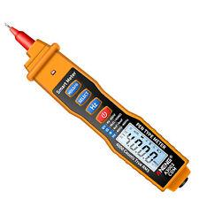 Aneng Lcd Digital Multimeter Ncv Acdc Voltmeter Ohmmeter Tester Pen 4000 Counts