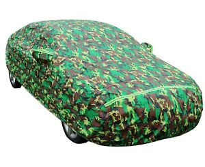 Camo Car Cover for Ford Focus Fiesta Waterproof All Weather Protection