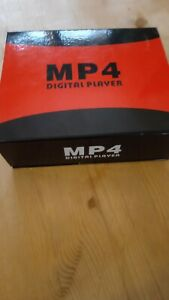 New boxed MP4 Digital player Bundle Black with head phones plug and play