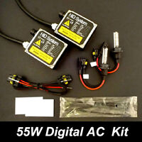55W H1 HID Conversion Kit For Driving Fog Light 4300K 6000K 8000K