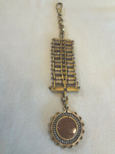 Fabulous Antique Victorian Gold Stone Watch Fob