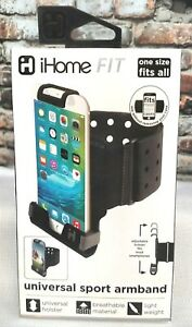 iHome FIT Universal Sports Light Weight Armband One Size Fits Most Smartphones(S