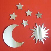 Sun, Moon & 5 Stars Bundle Acrylic Mirrors