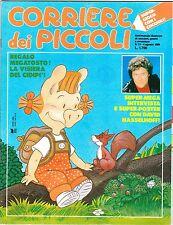 CORRIERE DEI PICCOLI 1989 NR.31 INSERTO - MILLY UN GIORNO DOPO L'ALTRO - STEFI