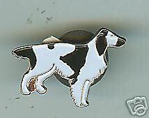 English Setter dog breed Lapel Pin