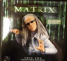 Matrix Movie Twin 2 Limited Edition Bust Statue Dark Horse Gentle Giant Neo New