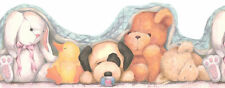 Bunny Duck Puppy Bear Lamb Wallpaper Border