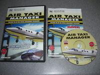 AIR TAXI MANAGER Pc Add-On Expansion Microsoft Flight Simulator Sim 2004 FS2004