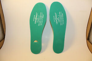 """Orthofeet 1/8"""" Spacer Shoe Insole Insert Green Womens Size 9 NWOT"""