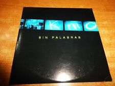 SIN PALABRAS Kmo CD ALBUM PROMO CARTON DEL AÑO 2002 CONTIENE 9 TEMAS
