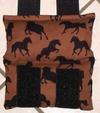 New! Microwaveable Reuseable Horse Themed Bit Warmer for Bridle