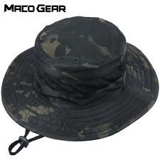 Men's Tactical Boonie Bucket Hats Sun Hunting Fishing Hiking Camping Outdoor Cap