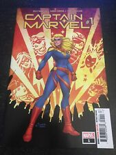 Captain Marvel#1 Incredible Condition 9.4(2019) Carnero Art!