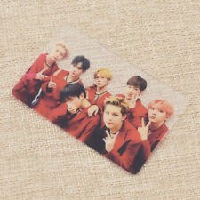 Kpop MONSTA X Members Transparent Photo Card Photocard Fanmade Unisex Gift