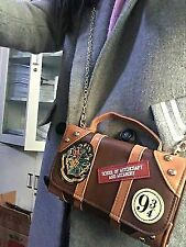 Harry Potter Hogwarts PU School Badge Wallet Bag Package Christmas Gift