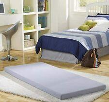 """Beauty Sleep Siesta Memory Foam Mattress Roll Up Guest Bed/Floor Mat 3"""" Single"""