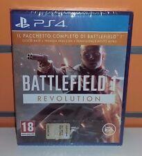 Battlefield 1: Revolution PS4 NUOVO SIGILLATO ITA