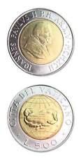 Vatican Pope John Paul II 1992 500 Lire Bimetallic Coin