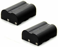 2x 7.4v 1900mAh Li-ion Battery for NP-400 Konica Minolta Dynax / Maxxum 5D 7D