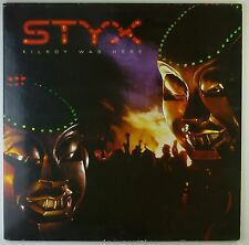 """12"""" LP - Styx - Kilroy Was Here - k5948 - washed & cleaned"""