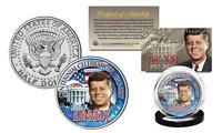 President KENNEDY JFK 100 Birthday 2017 Genuine JFK Half Dollar White House Coin