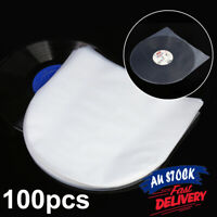 """100pc Record Cover Inner Plastic Vinyl Record Sleeves LP Music Durable for 12"""""""