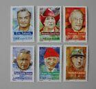 France 2000 3342 à 3347 neuf luxe ** personnages célèbres les grands aventuriers