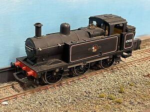 Hornby Oo Gauge 0-6-0 Jinty Steam Loco In Br Black 47458