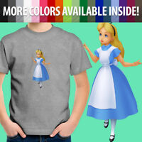 Toddler Kids Tee Youth T-Shirt Cute Alice in Wonderland Disney Kingdom Hearts