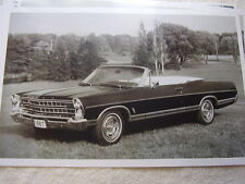 1967 FORD GALAXIE XL CONVERTIBLE  11 X 17  PHOTO   PICTURE
