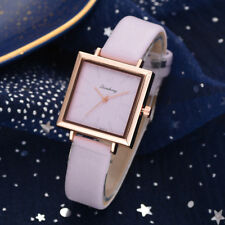 Fashion Women Leather Strap Wrist Watch Luxury Casual Quartz Analog Watch CA