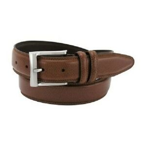 Florsheim Cognac Brown Men's Belt, Men's Brown Dress Belt Style 1136 NWT.Cognac
