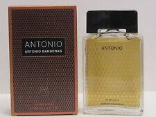 Antonio by Antonio Banderas For Men 3.4 oz After Shave Splash New In Box Rare