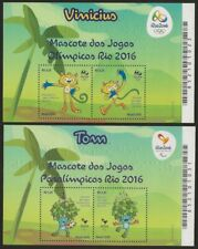 Mascot From The Olympic Games Rio 2016 Tom and Vinicius